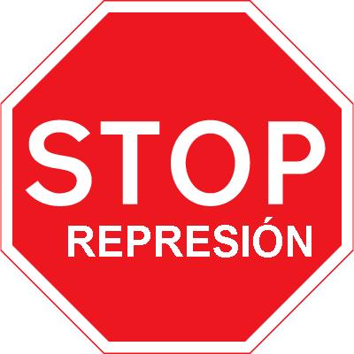 Resultat d'imatges de stop represions ccoo